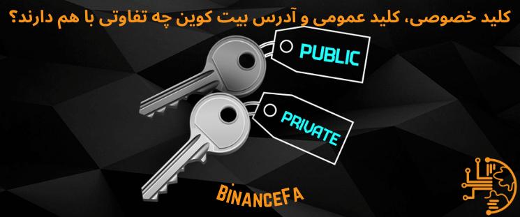 کلید خصوصی، کلید عمومی و آدرس بیت کوین چه تفاوتی با هم دارند؟