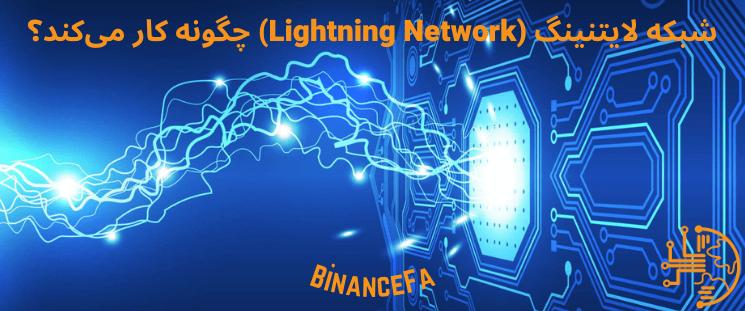 شبکه لایتنینگ (Lightning Network) چگونه کار می کند؟