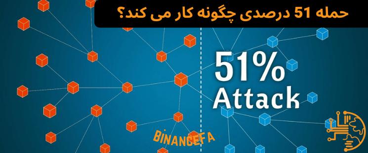 حمله 51 درصدی چگونه کار می کند؟