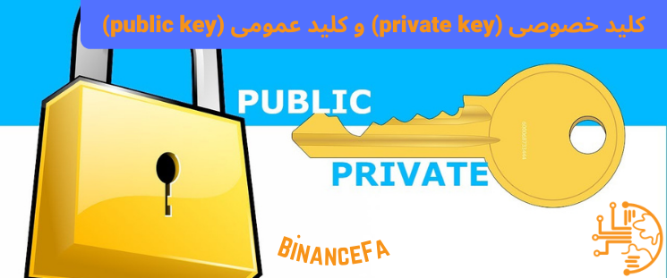 کلید خصوصی (private key) و کلید عمومی (public key)