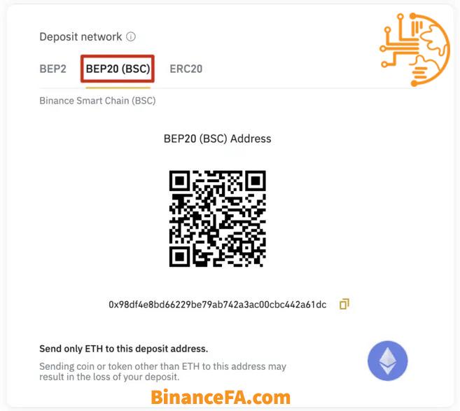 بایننس بریج BEP20