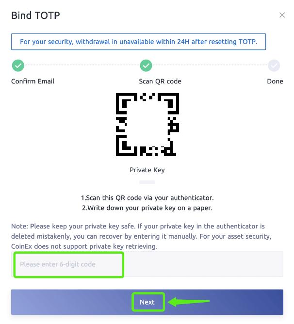 QR code برای گوگل آتنتیکیتور